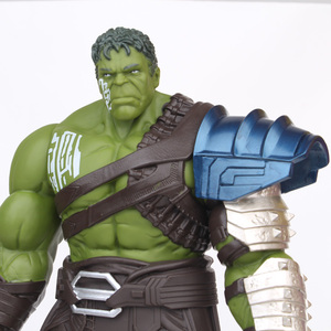 Image 5 - 18/35cm Big Size Avengers Marvel Thor 3 Ragnarok Hands Moveable War Hammer Battle Axe Gladiator Hulk BJD Action Figure Model Toy
