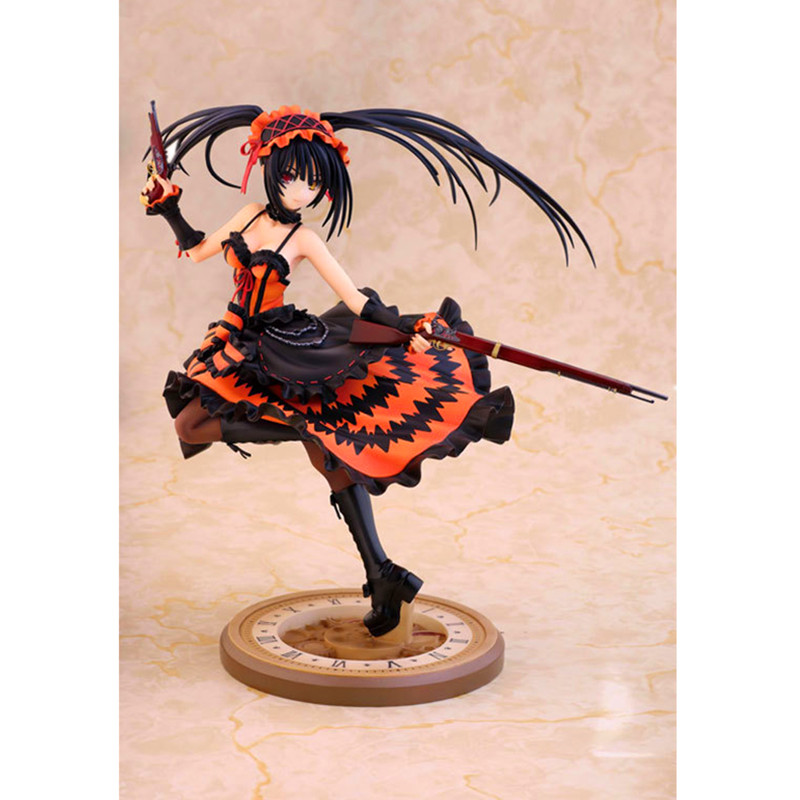 Date A Live Tokisaki Kurumi 1/8 Scale PVC Figure Collectible Toy 9 23CM Y81 block b 2016 live concert blockbuster release date 2017 02 27
