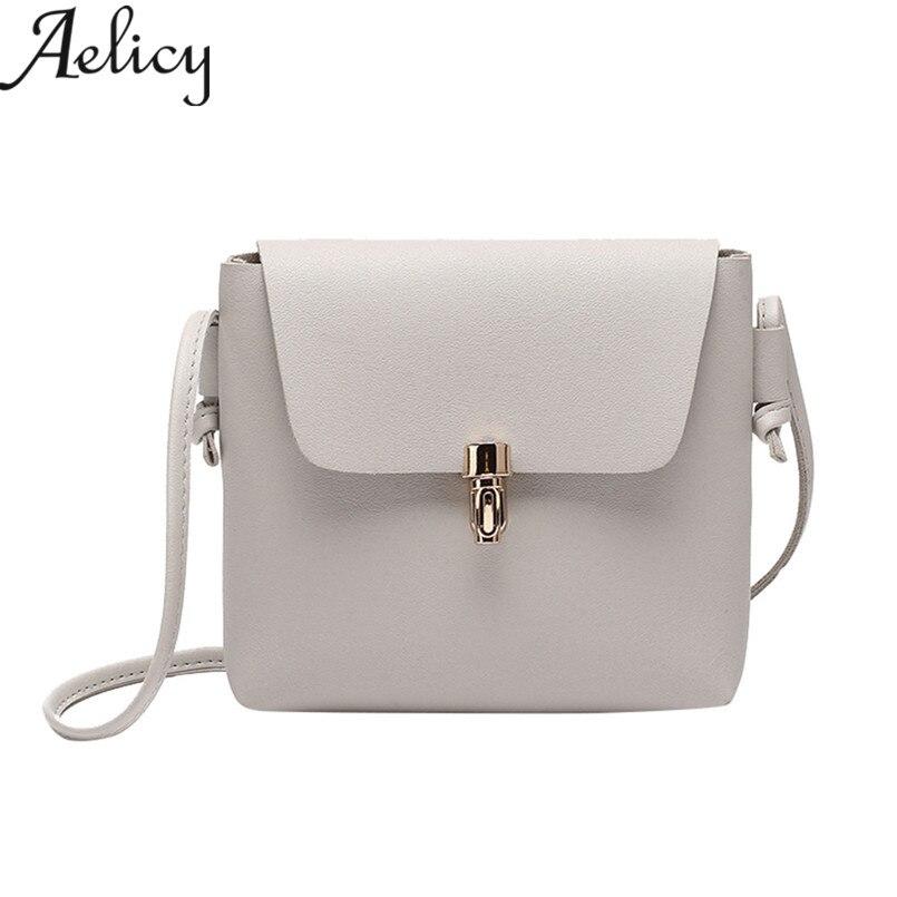 Aelicy 2018 Новая мода @ Для женщин крышка Hasp сумка девушки кожаная сумка телефон монета мини молния плечо сумки