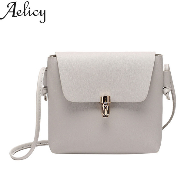 Aelicy 2018 NEW Fashion    Women Cover Hasp Crossbody Bag Girls Leather  Messenger Bag Phone 6b51765ea87c1