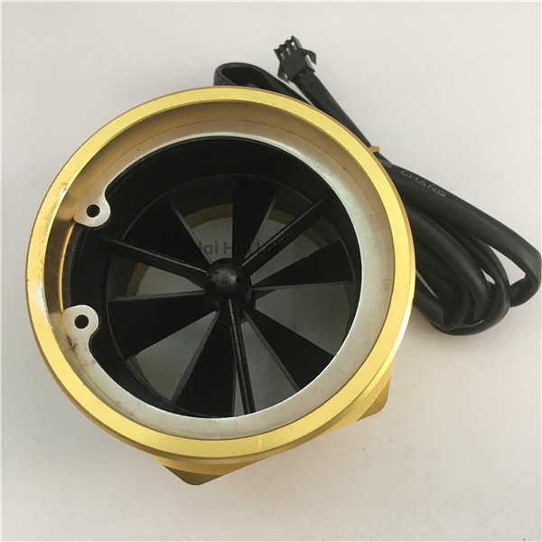 +DN80 Aluminum water Hall flow sensor meter (3)