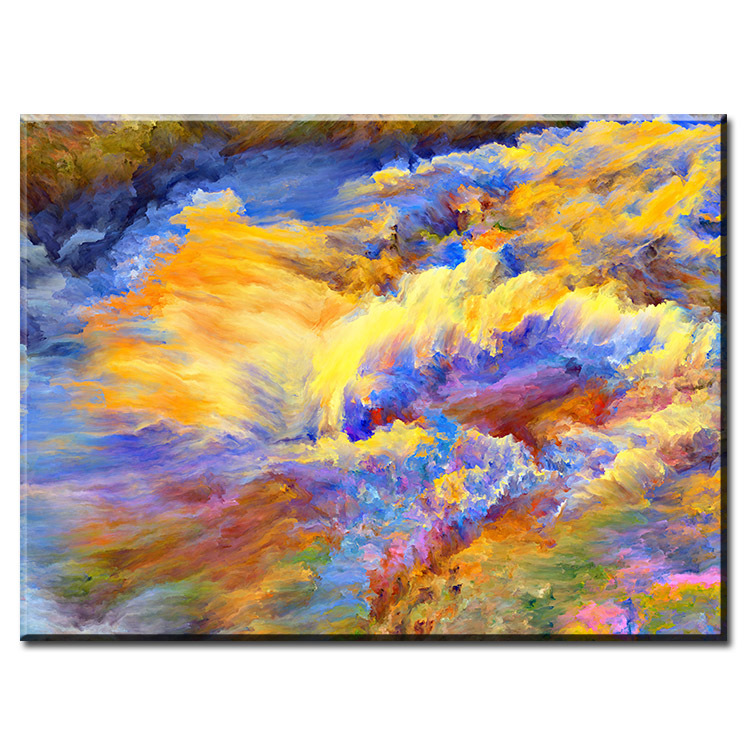 DP ARTISAN amazing colorfull space art Wall painting print on canvas for home decor oil painting arts No framed wall pictures