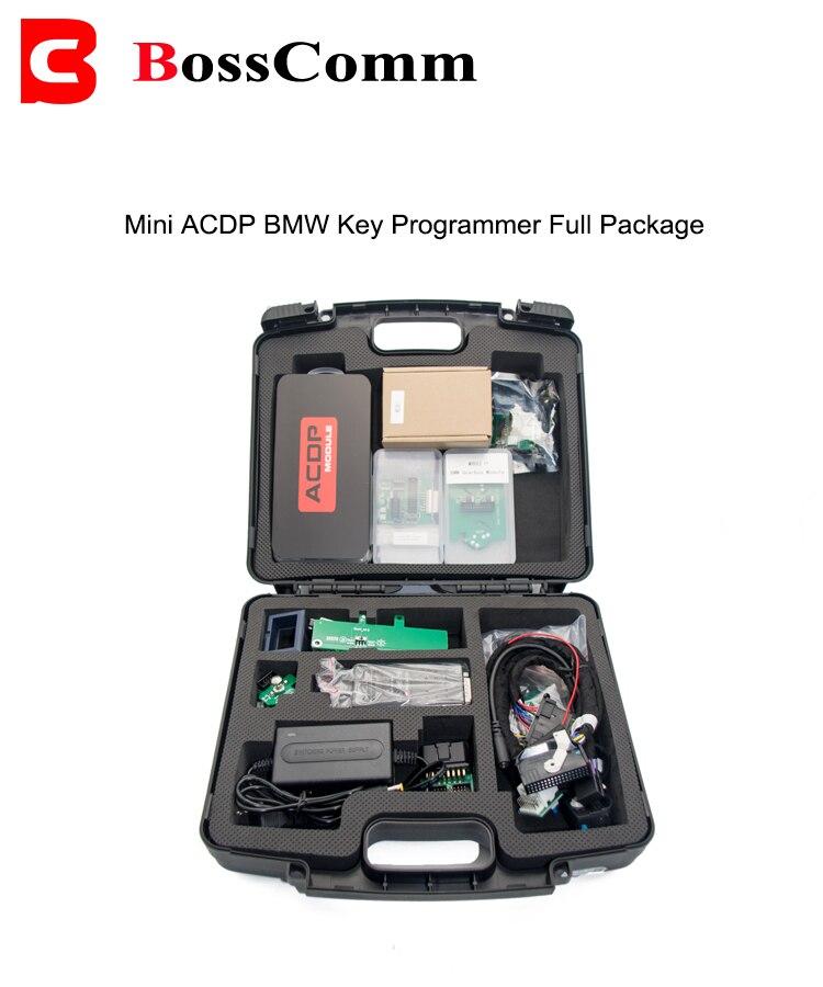 Le paquet complet de Mini ACDP comprend 12Modules CAS/FEM/is/M35160/Fujitsu/VW/rafraîchissement des clés/programmeur de clés FRM/KVM/BDC/EGS