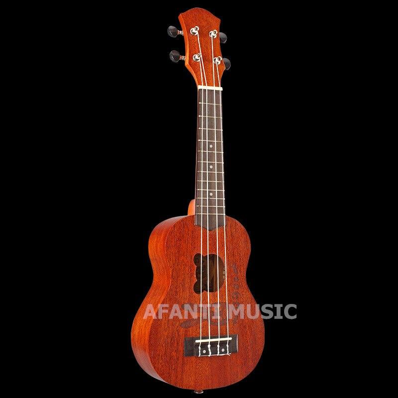 Afanti  Music Mahogany / 21 inch Ukulele (DGA-250) 13 inch double tone afanti music snare drum sna 109 13