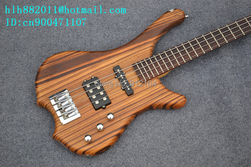 free shipping new 4 strings electric bass guitar with elm body in natural +foam box F-2035 наручные часы casio mtd 1082d 2a