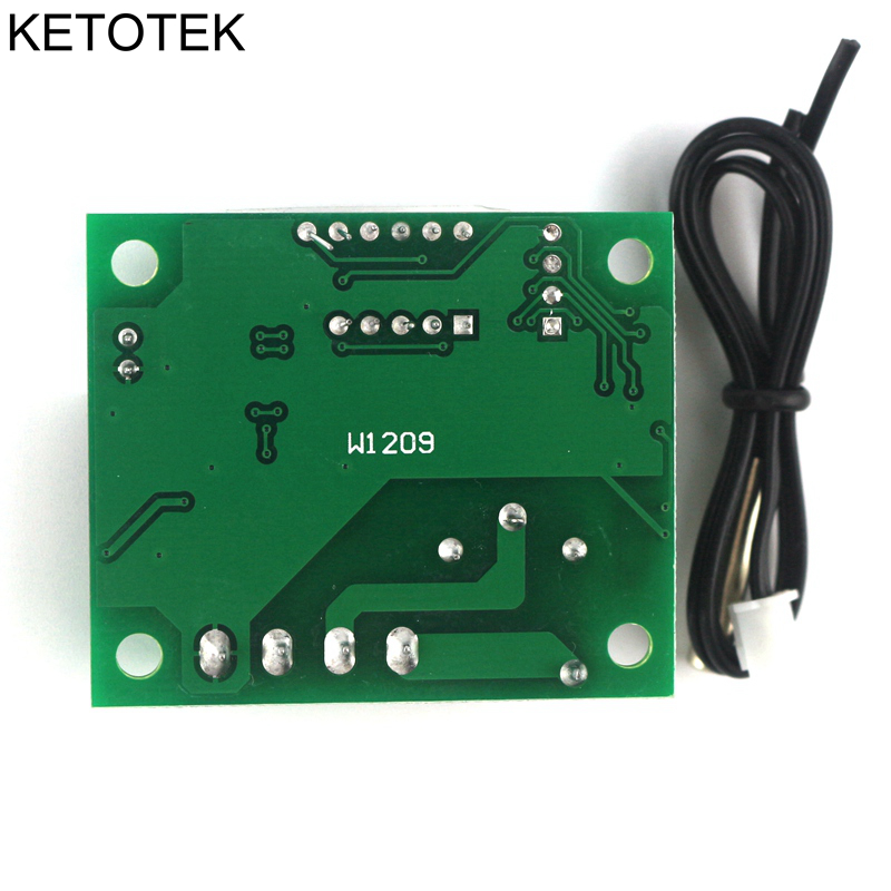 DC 12V Controlador digital de temperatura del interruptor de - Instrumentos de medición - foto 6