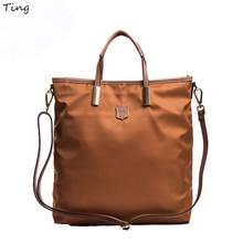 Europe Classic ladies designer Fashion Nylon hobo handbags Leisure big messenger shoulder bags for woman bolsos mens briefcase