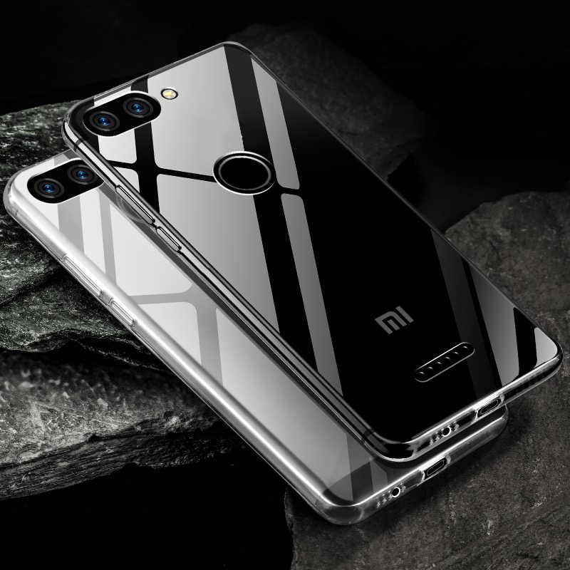 Ультратонкий Мягкий Прозрачный ТПУ чехол на для Xiaomi Redmi 6 Pro 6A S2 5 Plus 5A 7 4 4X 4A Note 4 4X5 5A 6 Pro 7 Чехол