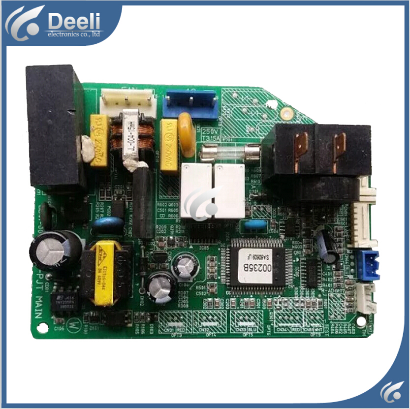 95% new good working for air conditioning board computer board DB93-02482A DB41-00175A DB93-02483A control board wire universal board computer board six lines 0040400256 0040400257 used disassemble