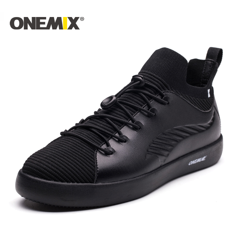 ONEMIX 2018 new men sneakers shoes light Skateboarding Shoes trekking shoes for men soft deodorant outdoor