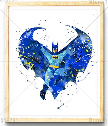 5d Diy Diamond Painting Batman Cross Stitch Full Square Drill Mosaic