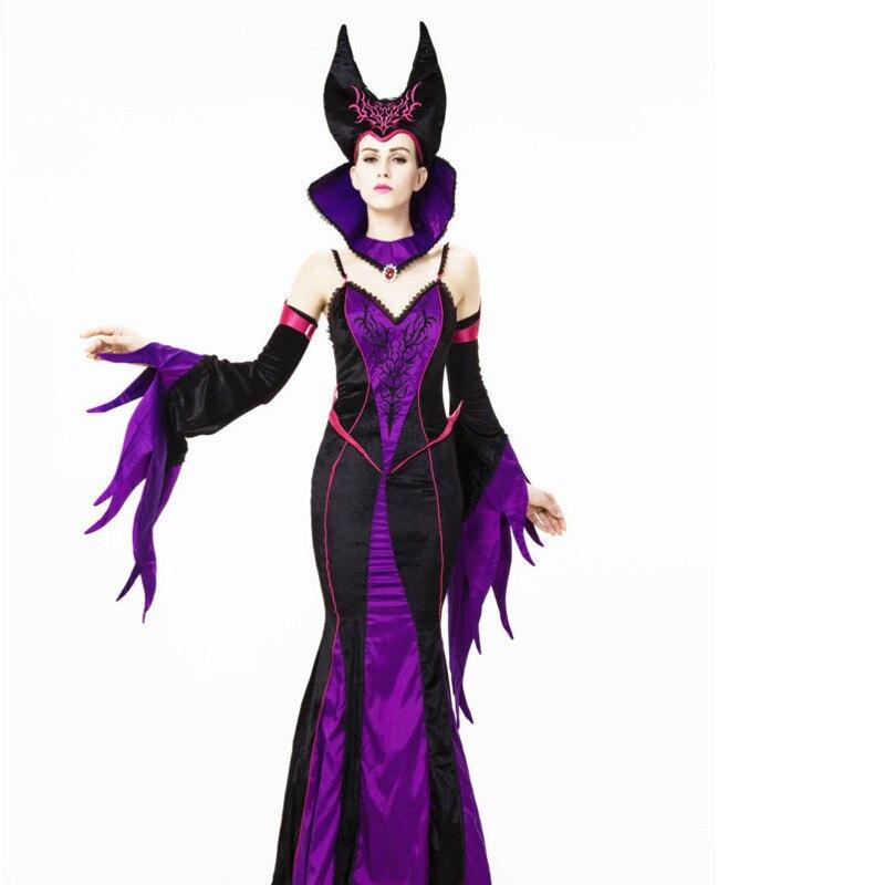 Compra purple sexy halloween vampire costume dress y disfruta del envío  gratuito en AliExpress.com 672fff0baeb4