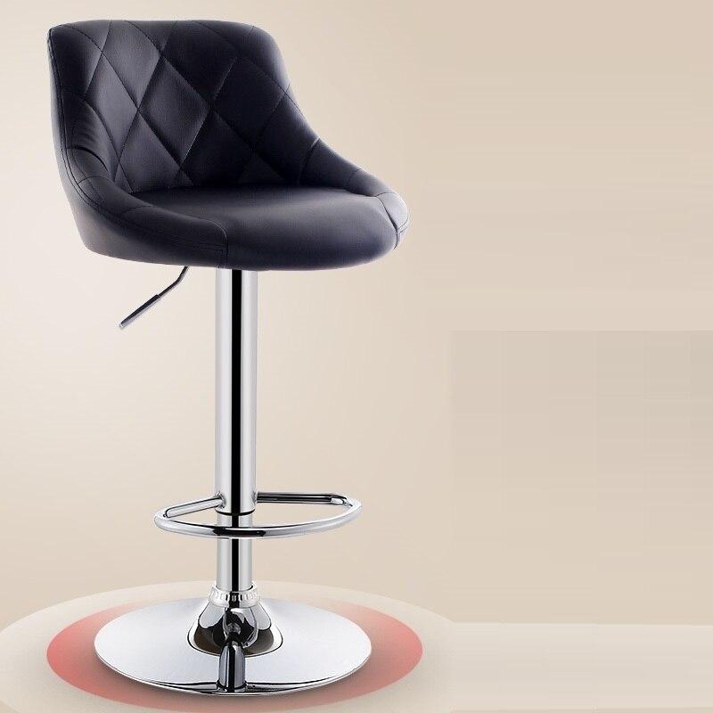 Купить с кэшбэком Sedia Para Barkrukken Tabouret Comptoir Stoelen Banqueta Taburete De La Barra Leather Cadeira Stool Modern Silla Bar Chair