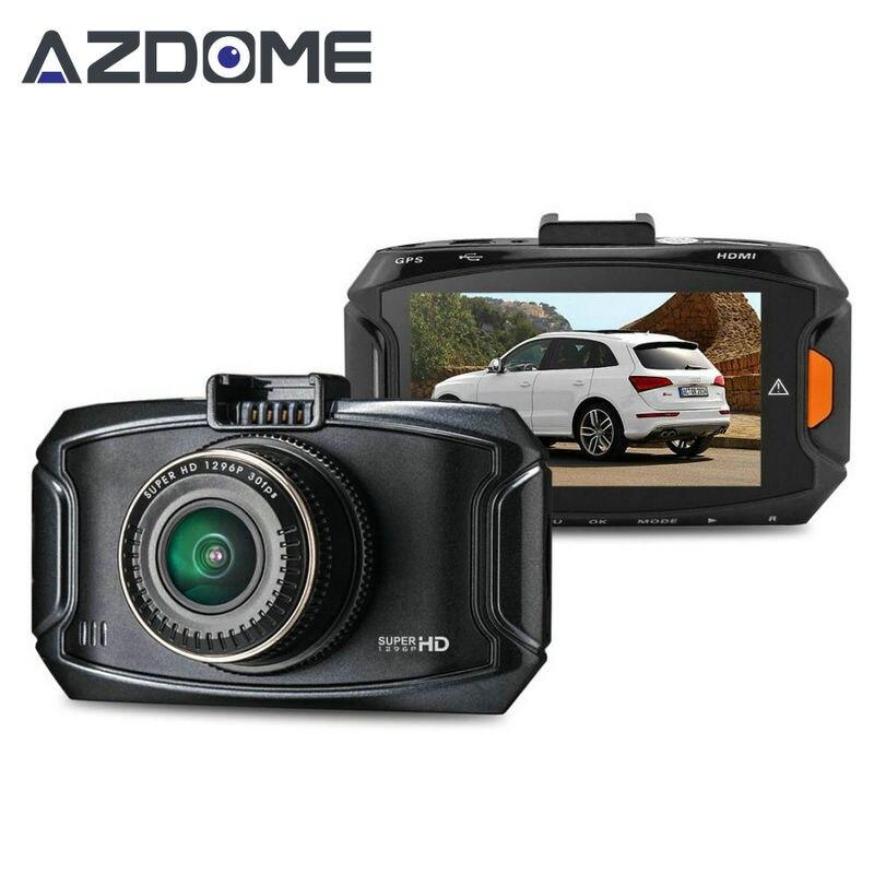 """imágenes para Azdome GS90A Caliente DVR Del Coche Ambarella A7L50 Car Dash Grabador de Vídeo Cam Full HD 1296 P 30fps 2.7 """"lcd g-sensor HDR Cámara Del Coche GPS H15"""
