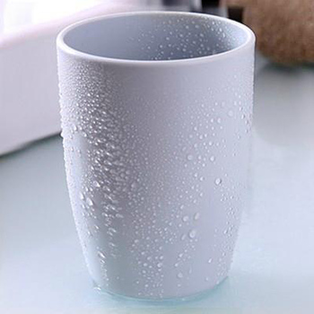 Eco-friendly Thick Circular Cups Toothbrush Holder Cup PP Rinsing Tooth Mug Cup TB Sale