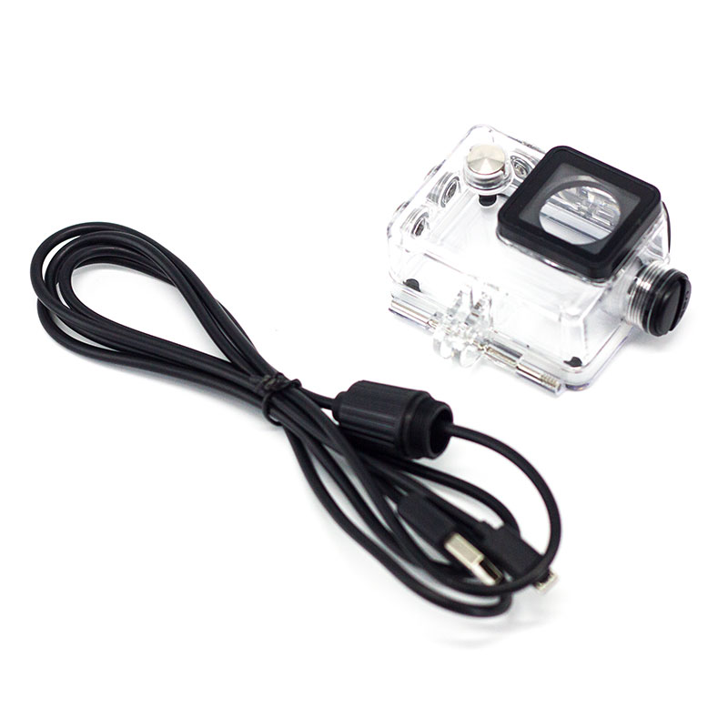SUNGO Diving Waterproof Housing Case Shell USB Charger Cable for SJ4000/ 9000 Motorcycle Sj7000 F60 F68 W8 W9 H9 EKEN H9/H9R C30