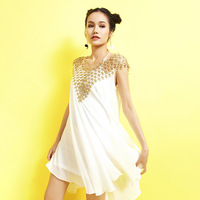 Ky&Q Sweet Winter Spring Women Casual Mini Dresses Glitter Shinning Net Sequin Sleeveless Strapless Party Vestidos New Year Suit