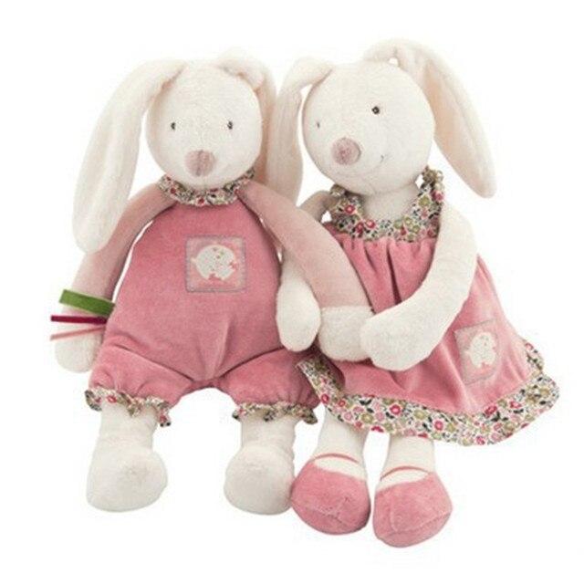 33 CM lindo conejo juguetes de peluche | juguetes de peluche bebé de peluche de juguete Animal muñeca bebé acompañar dormir juguete regalos de confort juguete para los niños