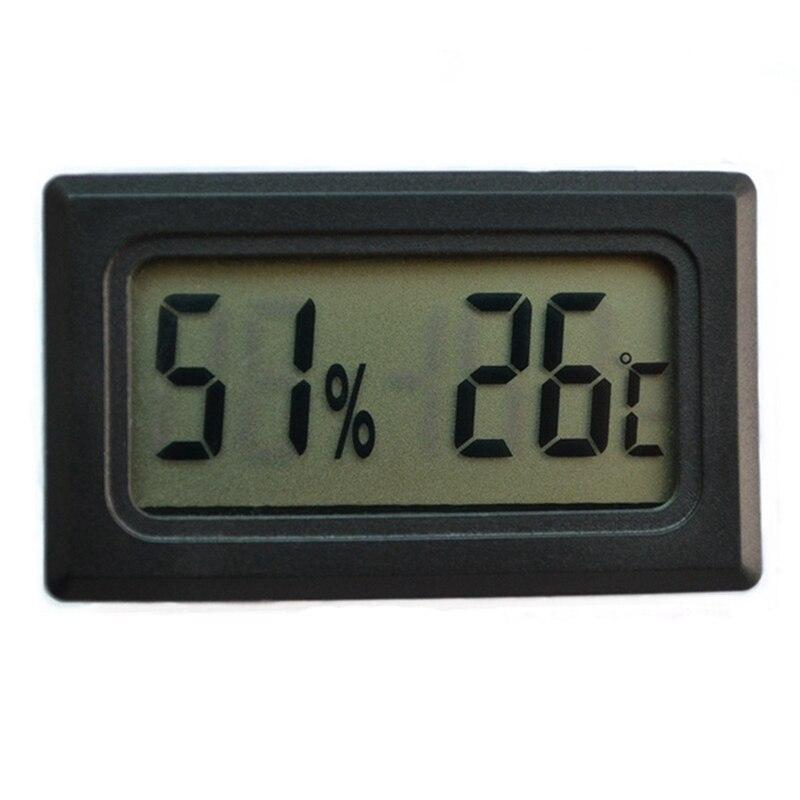 Mini LCD Digital Thermometer Hygrometer Fridge Freezer Tester Temperature Humidity Meter Detector Thermograph Pet Auto Car