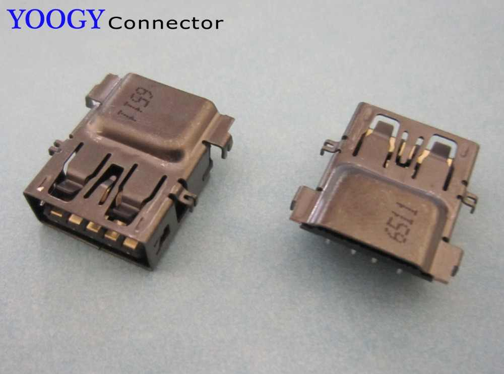 1pcs USB3.0 socket fit for HP DV6-6100 DV6T-6000 DV6T-6100, Samsung NP350 NP365 NP365E5C series laptop motherboard usb jack port