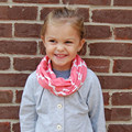 New Winter Kids Children Cotton Jersey Knit Quatrefoil Circle Ring Scarf Infinity Scarves for Baby Free Shippping