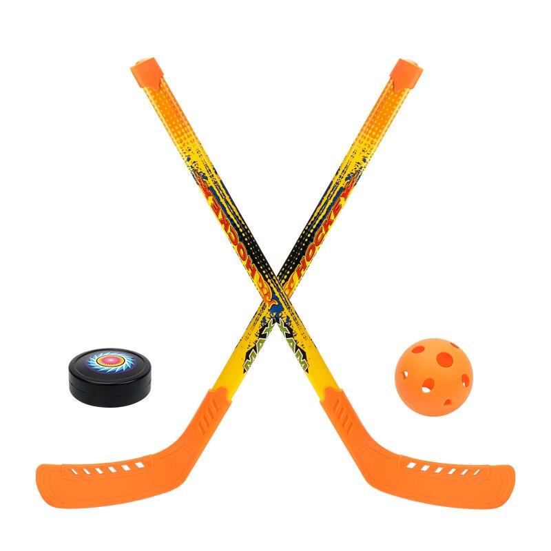 Enfants doux sécurité Hockey Set jouets pour enfants drôle sport jouer jeux en plein air jouet garçon Crashproof Hockey Parent-enfant jeux - 5