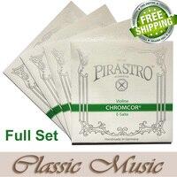 Free Shipping Pirastro Chromcor Full Violin String Set 4 4 Ball End Made In Germany