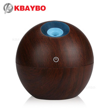 USB Aroma Essential Oil Diffuser Ultrasonic Mist Humidifier Air Purifier 7 Color Change LED Night light for Office Home 130ml