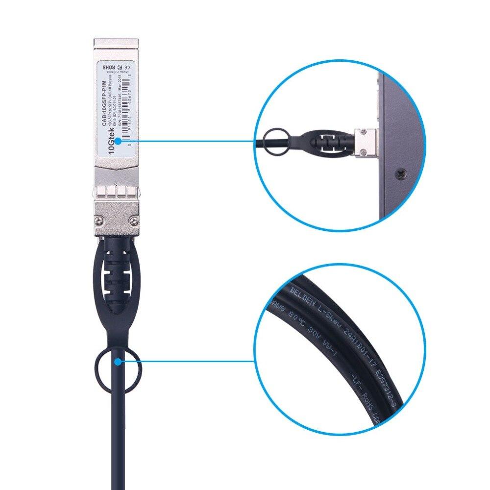 10Г 5М СФП + ДАЦ кабл СФП-Х10ГБ-ЦУ5М - Комуникациона опрема - Фотографија 2