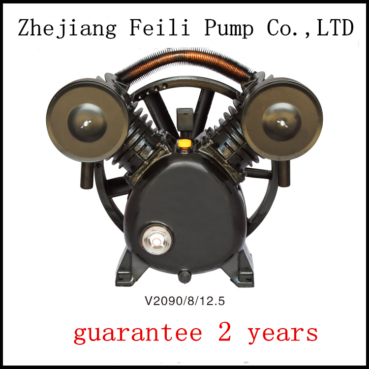 V2065/12.5 oil free air compressor headair compressor cylinder head exported to 58 countries belt driven air compressor head driven to distraction