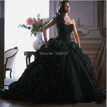 Cianlsria 2019 Elegant Ball Gown Quinceanera Dresses Black