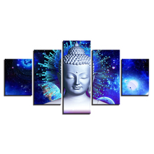 5 pcs,Full Square 5D DIY Diamond Painting Buddha And Abstract Planets diamond Embroidery Cross Stitch Rhinestones Y2478