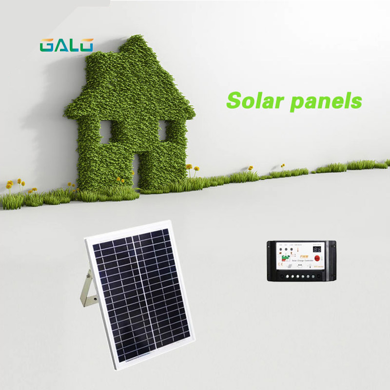 20 w 17V poly solar panel for DC24V gate system Solar energy conversion power to provide power energy efficient system for solar panel