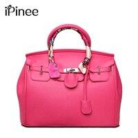 IPinee Лидер продаж для женщин сумки известных брендов Высокое качество кожаная сумка повседневное
