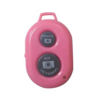 Mini aparat zdalnego sterowania Bluetooth bezprzewodowe zdjęcie migawki dla iPhone 6 6s 7 Samsung S8 Huawei Android GDeals tanie i dobre opinie centechia Aparat Kamera Wideo Other
