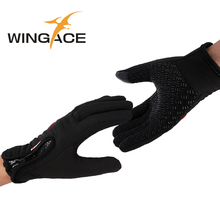 Sport Touch Gloves for smartphones men women winter Mittens couples fleece warm female tactical gloves iglove 2015 halloween