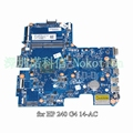 Sps 814051-001 g4 skittl10-6050a2730601-mb-a01 para hp 240 14-ac n3050 sr29h procesador 2.30 ghz cpu ddr3 placa madre del ordenador portátil