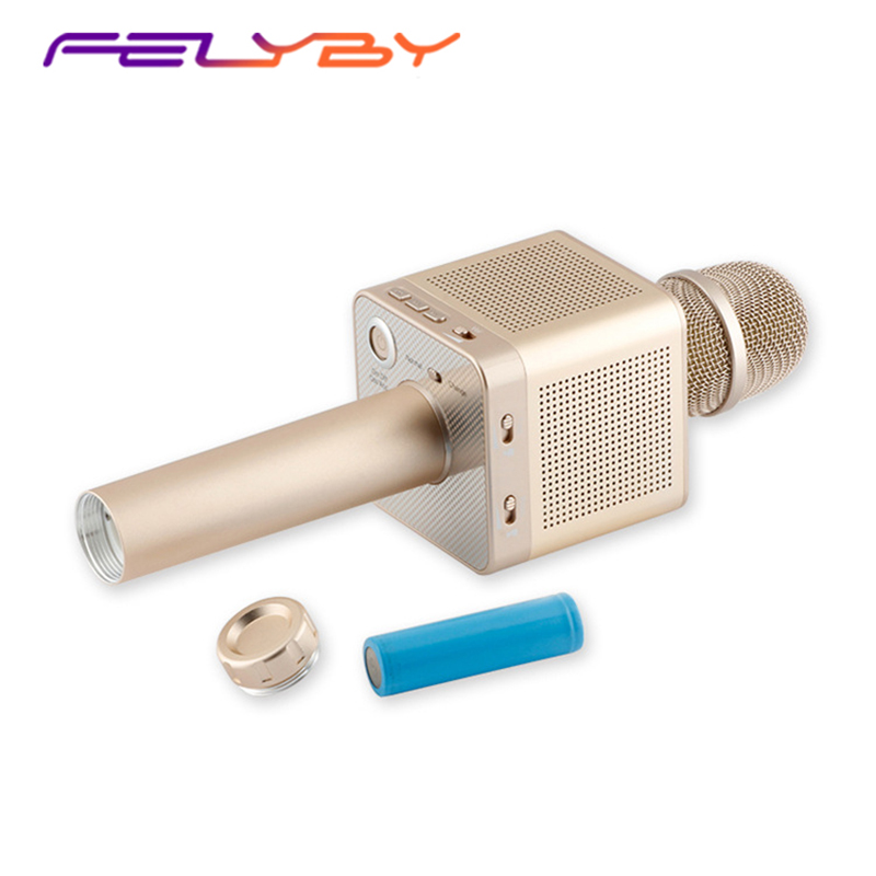 FELYBY Q10s Bluetooth Wireless Karaoke Microphone Sound Track Dimensional computer Portable Mic Home Outdoor SingingFELYBY Q10s Bluetooth Wireless Karaoke Microphone Sound Track Dimensional computer Portable Mic Home Outdoor Singing