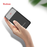 Yoobao Power Bank 20w 20000mAh For IPhone Portable External Battery Charger Digital Display For Xiaomi Huawei P20 Powerbank