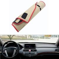 For Honda Crosstour 2012 2013 Car Dashboard Avoid Light Pad Instrument Platform Desk Cover Mat Silicone