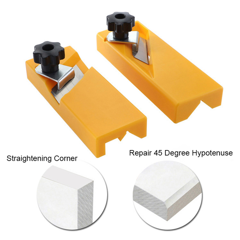 ABS Plastic Gypsum Board Hand Plane Wood Plasterboard Tool Flat Square Drywall Edge Chamfe Woodworking Tools for Carpenter