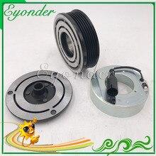 AC A/C Ar Condicionado Conjunto de Embreagem Magnética Compressor para BMW MINI R50 R52 R53 1.6 64526918122 64521171310 133121 1139014