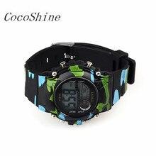 CocoShine A-912  1PC Mens Boys Digital LED Analog Quartz Alarm Date Sports Wrist Watch wholesale
