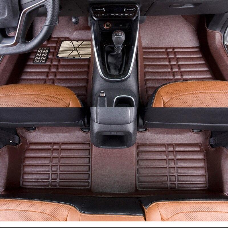 Myfmat пользовательские кожаные автомобильные коврики для TOYOTA YARIS L LEVIN Alphard TOYOTA Jeep 4500 AE86 Zelas Новое поступление Бесплатная доставка