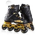 Slalom FSK Inline Skates Patines for Adults Daily Skating Sports with 85A PU Wheels ABEC-7 Bearing Aluminium Alloy Frame Base