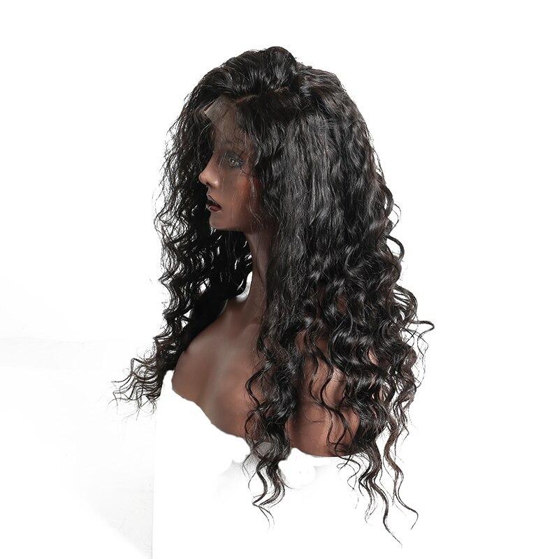 150% плотность полный шнурок человеческих волос парики свободная волна бразильский Реми предварительно сорвал с ребенком волос натуральный ...