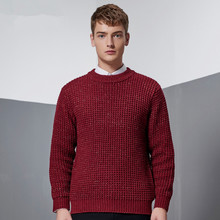 Pure cotton sweater men's best style Meth O-neck mens clothes sweaters brand jersey pullover male autumn winter knitwear dress