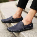 Handmade Genuine Leather Men Shoes, Fashion Flats ,Imitation Crocodile Business Dress Shoes,Male Loafers Zapatos Hombre