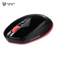 MOTOSPEED Original Bluetooth 3 0 Wireless Optical Mouse Red Light 2400DPI For Mac For Windows Android