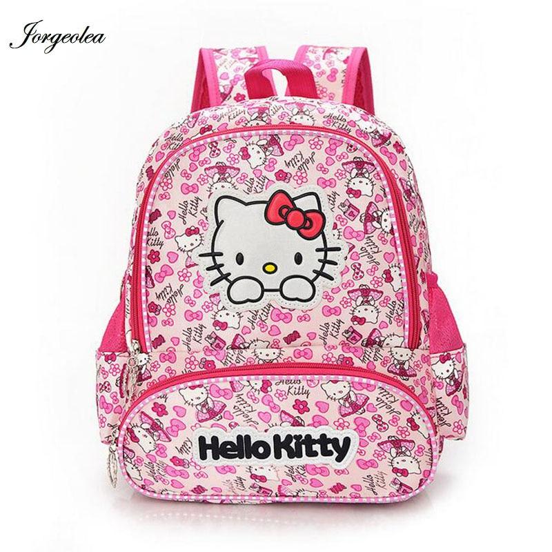 b947a40f6c Hello Kitty Girl`s School Bag Bambino Zaino Borse School Zaini Schoolbag  Bags Lovely Bambini Zaino all'ingrosso zainetto per bambini zaini per bambini  zaini